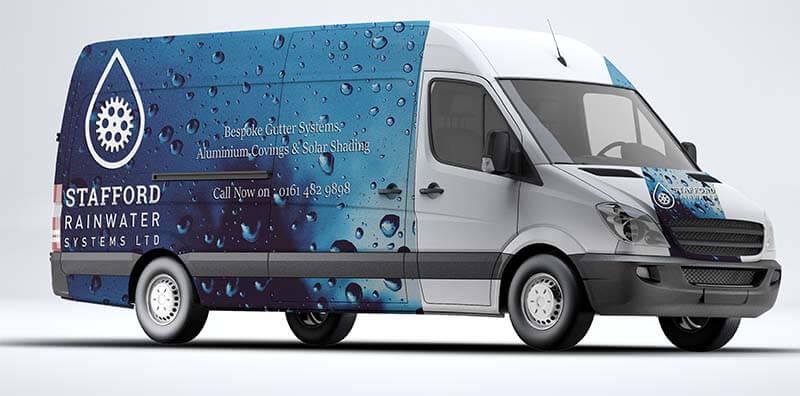 Stafford Rainwater Systems Van
