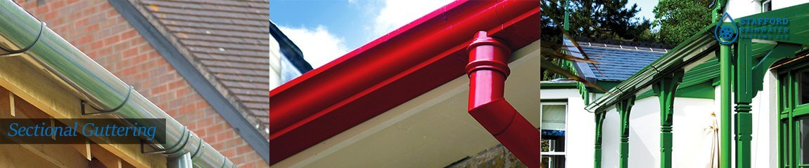 Sectional Guttering Stafford Rainwater Systems