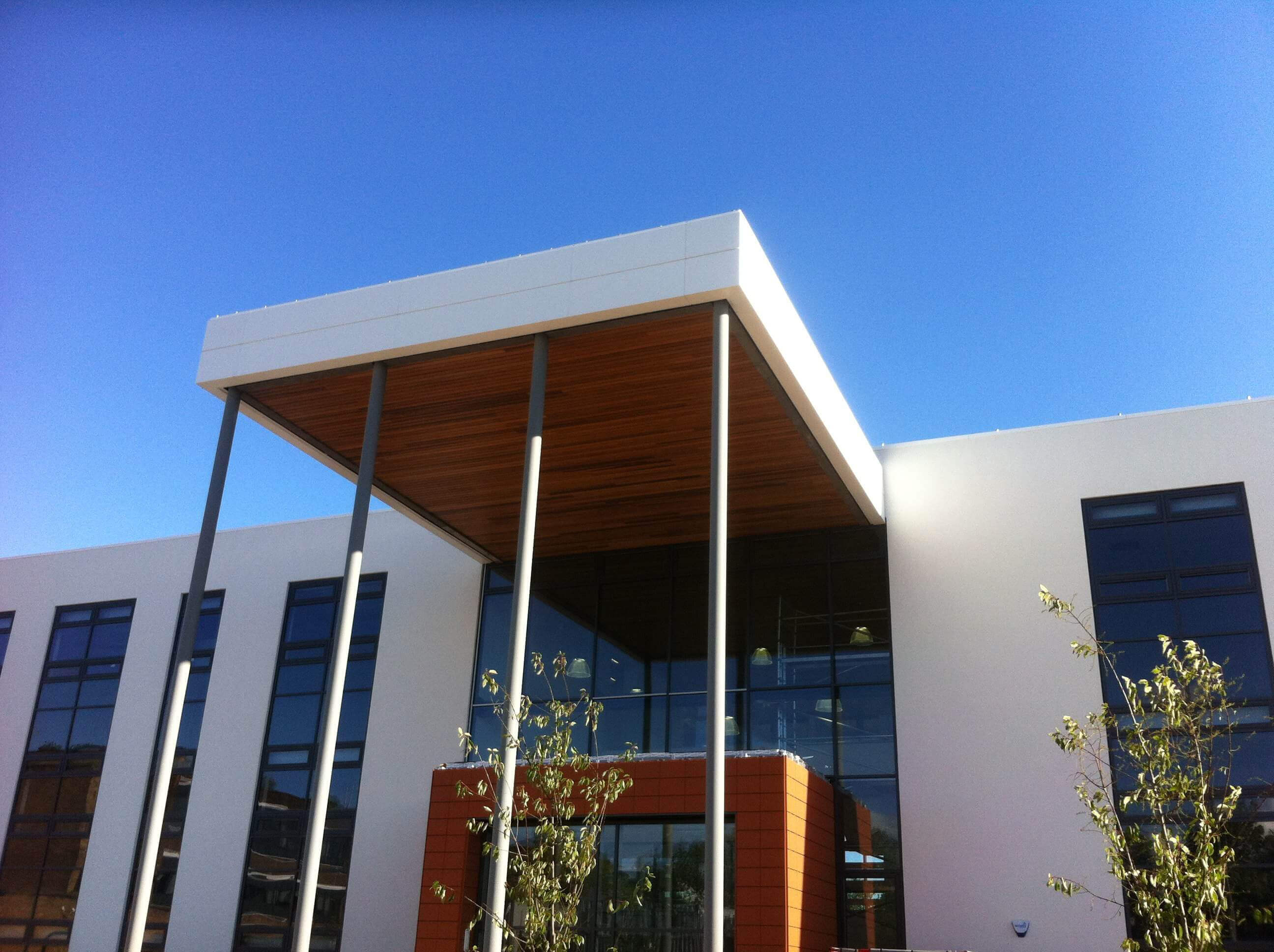 Cauldon Campus | Stoke-on-Trent College: Fascia & Soffit Installation