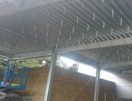 Aluminium Soffit's at Keele University