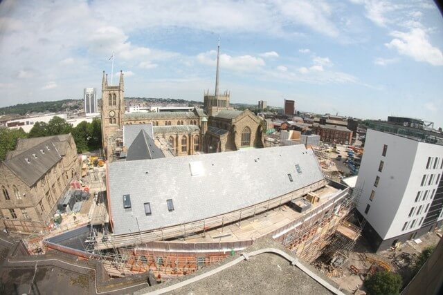 Our involvement in the Historic Preservation of Blackburn Cathedral.