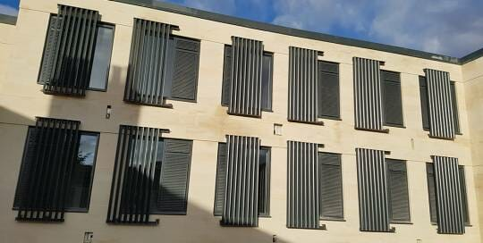 solar shading brise soleil archives stafford rainwater. Black Bedroom Furniture Sets. Home Design Ideas